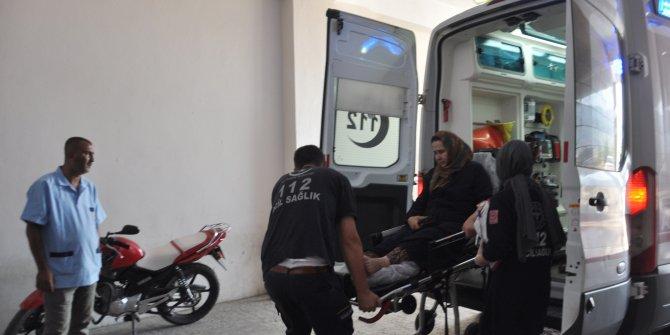Gaziantep'te iki otomobil çarpıştı: 3 yaralı