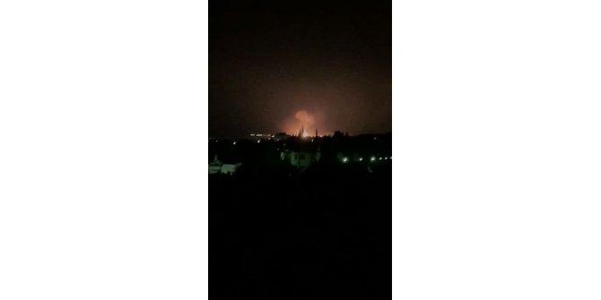 KKTC'de askeri bölgede ard arda patlamalar meydana geldi