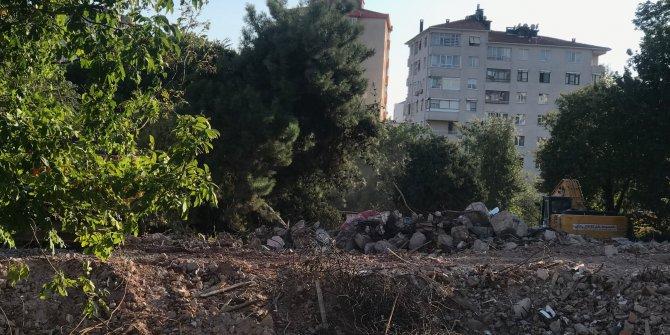(Havadan fotoğraflarla) - Tarihi Erenköy Kız Lisesi yıkıldı