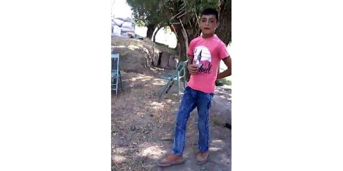 12 yaşındaki Taner'in öldüğü kaza kamerada