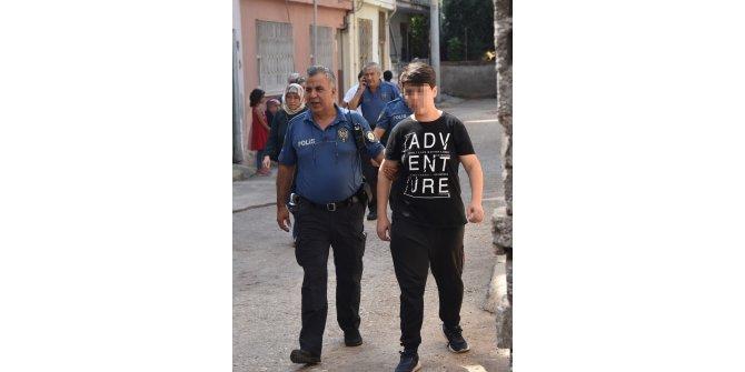 Babasını öldüren liseli tutuklandı