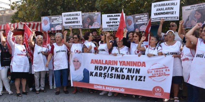 Vatan Partisi İzmir'den 'Diyarbakır anneleri'ne destek