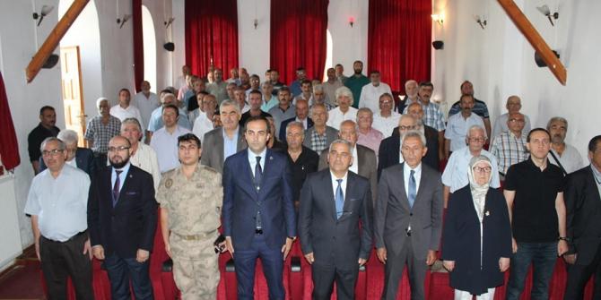 Kemaliye Kaymakamlığı, Birlik ve Güvenlik toplantısı yapıldı