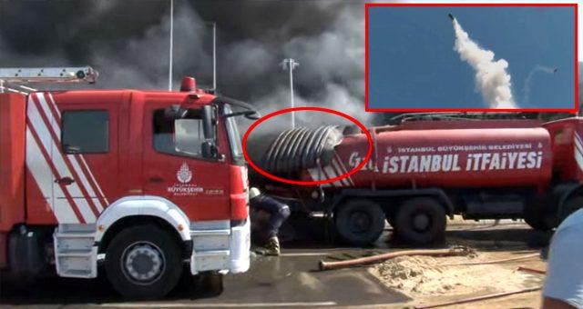 Tuzla yangınında korkutan olay! Yakıt tankı patladı