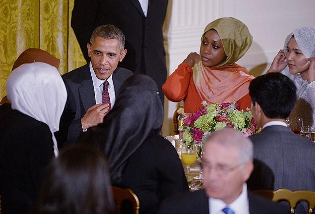 Barack Obama Beyaz Saray'da iftar yemeği verdi