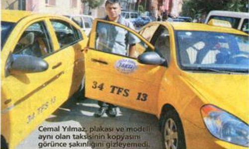 Korsan Taksiye Suçüstü