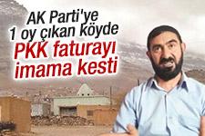 Mardin'de AK Parti'ye 1 oy çıkan köyde PKK tehdidi