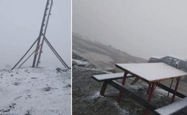 Mevsimin ilk karı yağdı! Rize Çamlıhemşin'de her yer bembeyaz oldu