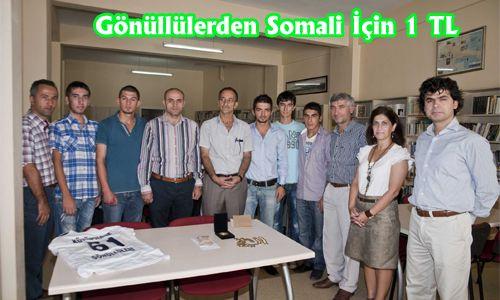 Gönüllülerden Somali İçin 1 TL