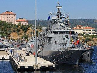Nato Gemileri Türkiye'ye Emanet