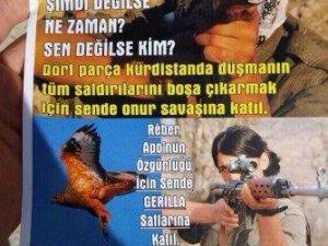 PKK Gençleri Dağa Broşürle Çağırdı!