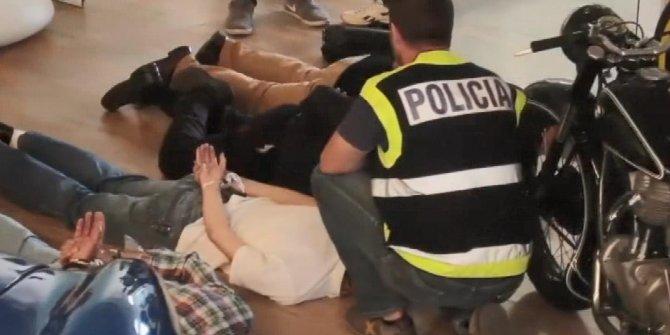 İspanya'da en büyük uyuşturucu şebekesi çökertildi