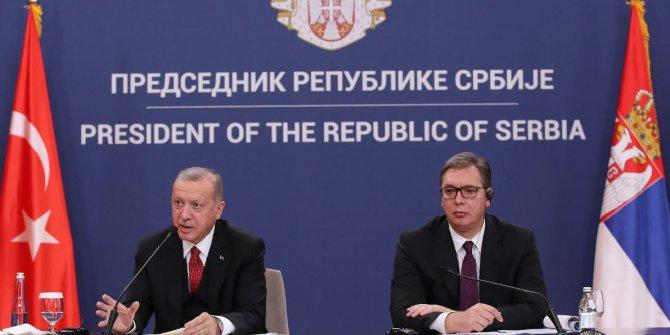 Erdoğan: Ticaret hacmini 5 milyar dolara çıkarmayı hedefliyoruz