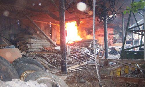 Yayla Mahallesinde Yangın