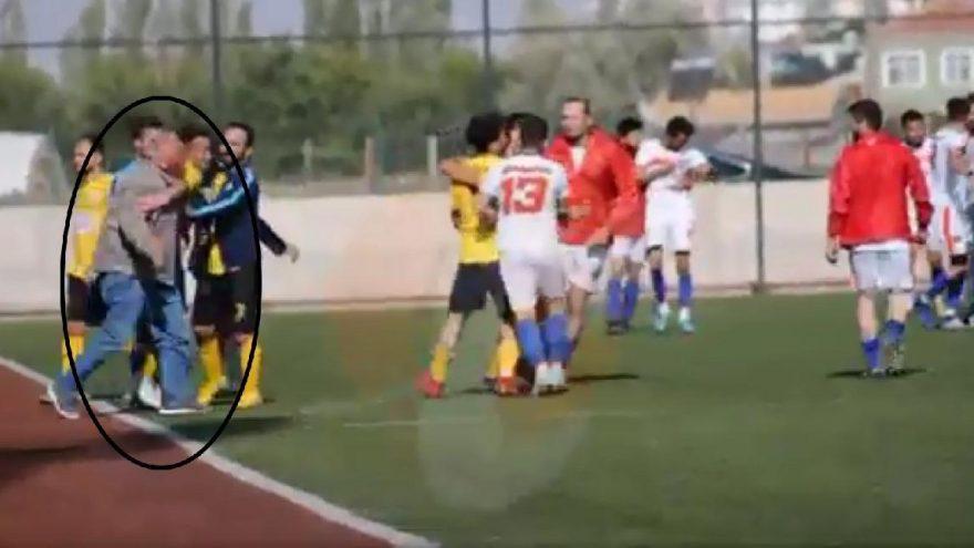 Futbolcu döven başkandan açıklama! Dövdüm ama niye dövdüm....