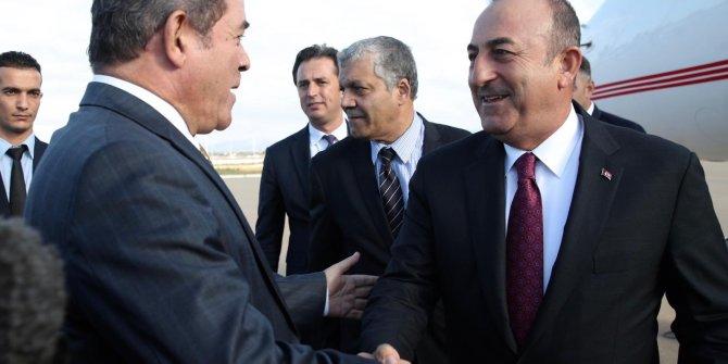 Bakan Çavuşoğlu, Cezayir'de
