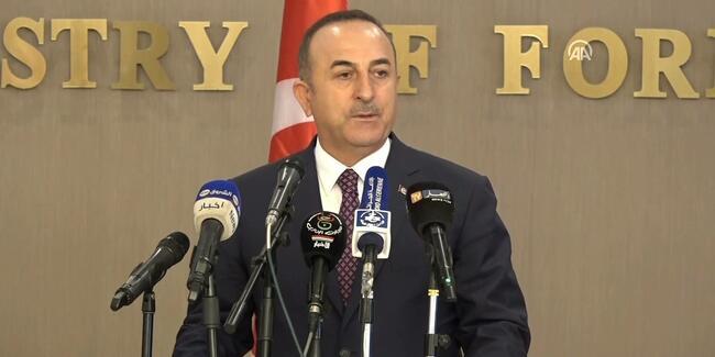 Bakan Çavuşoğlu'ndan Fırat'ın doğusuna operasyon açıklaması!
