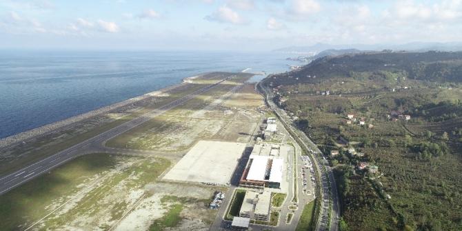 Ordu-Giresun Havalimanı 9 ayda 805 bin yolcuya hizmet verdi