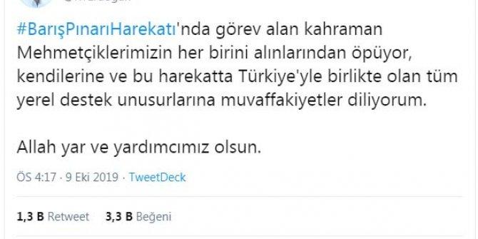 Erdoğan: Barış Pınarı Harekatı başlamıştır (2)