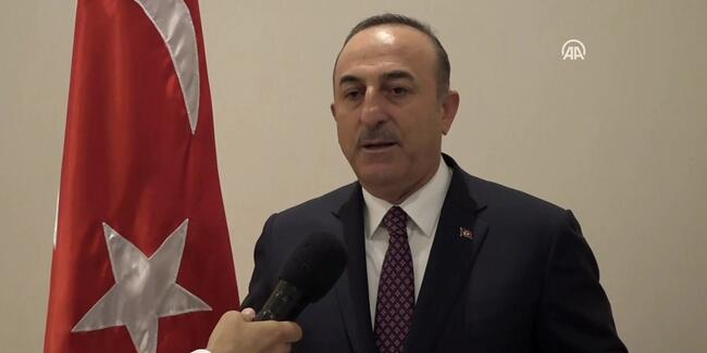 Çavuşoğlu'ndan Barış Pınarı Harekatı ile ilgili açıklama