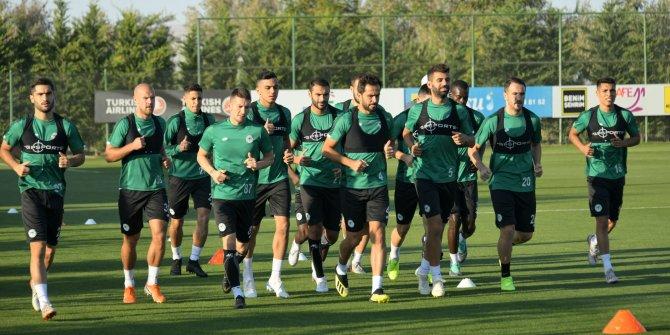 Konyaspor'da Yeni Malatyaspor maçı hazırlıkları başladı