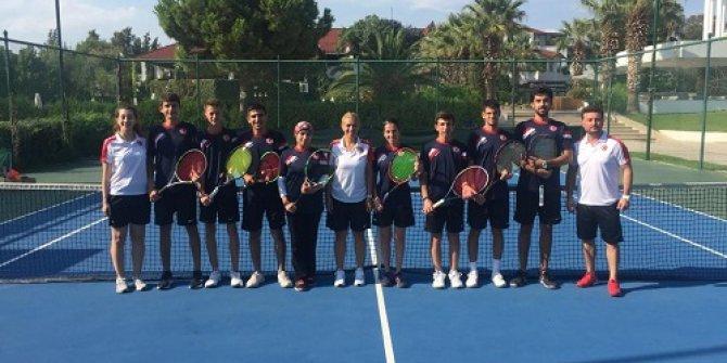 Dünya İşitme Engelliler Tenis Şampiyonası Antalya'da