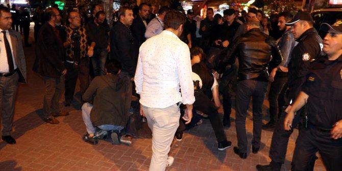 Ankara'da, 'Barış Pınarı Harekatı'nı protesto eden HDP'lilere müdahale: 11 gözaltı