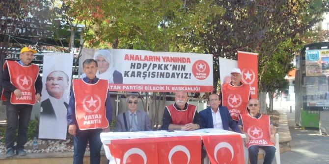 Bilecik'ten 'Diyarbakır Anneleri'ne destek