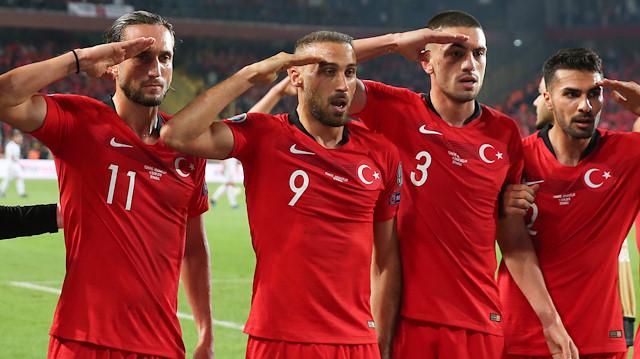 UEFA'dan A Milli Takım'ın gol sevincine soruşturma iddiasına yalanlama
