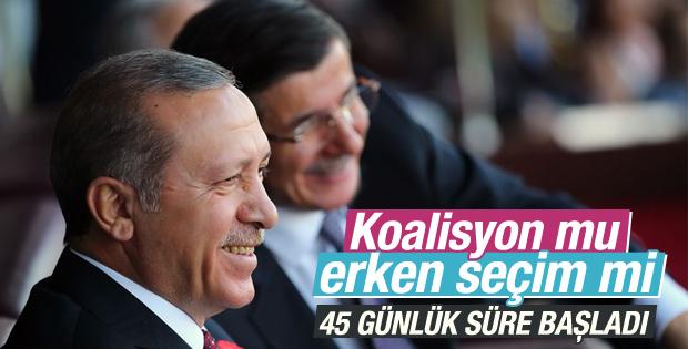 Davutoğlu yeni hükümeti kurmakla görevlendirildi