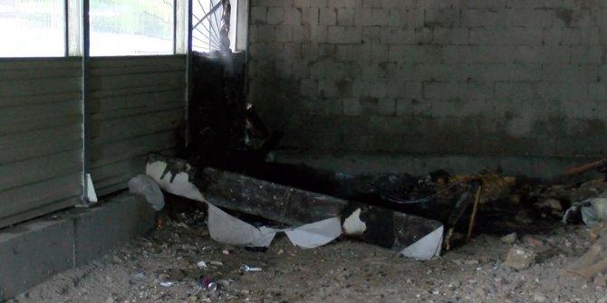 Koltuk yandı, Marmaray seferi aksadı