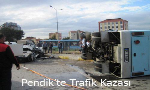 Orta Mahallede Trafik Kazası