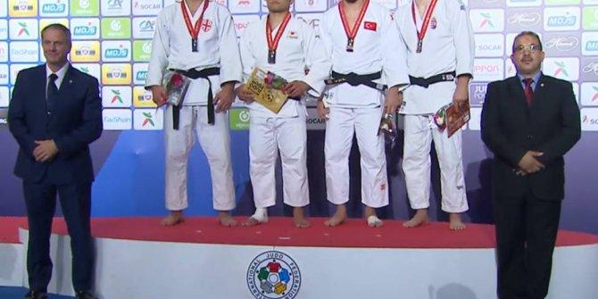 Milli judocu Mert Şişmanlar'dan bronz madalya