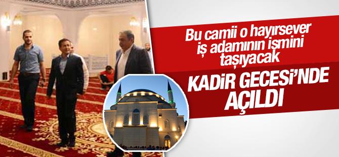 Nazmi Durbakayım Camisi Kadir Gecesi'nde Açıldı