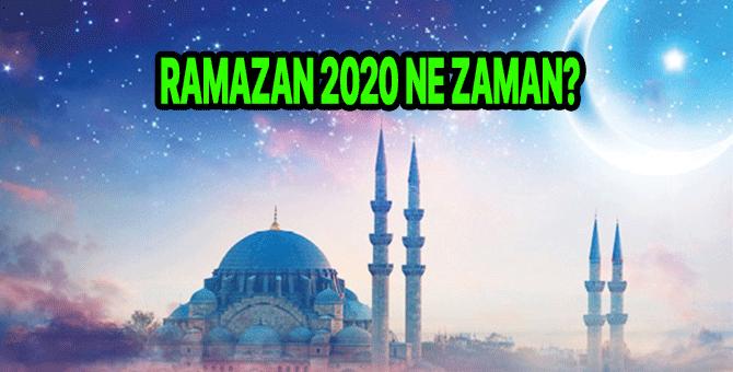 Ramazan ne zaman 2020? Ramazan Bayramı ne zaman 2020? Kaç gün tatil?