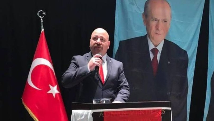 MHP'li başkan kendisini vurdu!