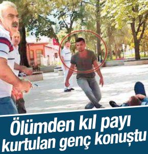 Ölümden Kıl Payı dönmüştü HaberTürk'e konuştu