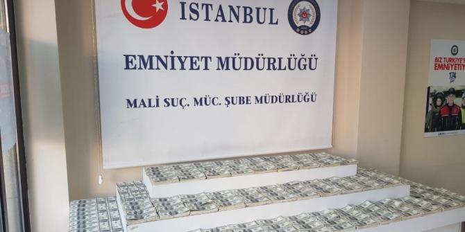 İstanbul'da sahte para operasyonu: 1 milyon 330 bin dolar ele geçirildi