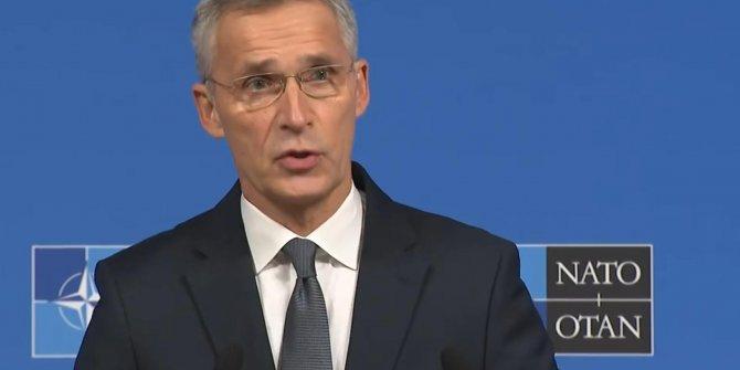 NATO Genel Sekreteri gelişmeleri memnuniyetle karşıladığını belirtti