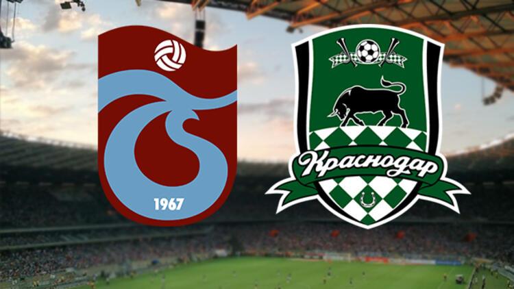 Trabzonspor- Krasnodar maçı ilk 11'leri belli oldu