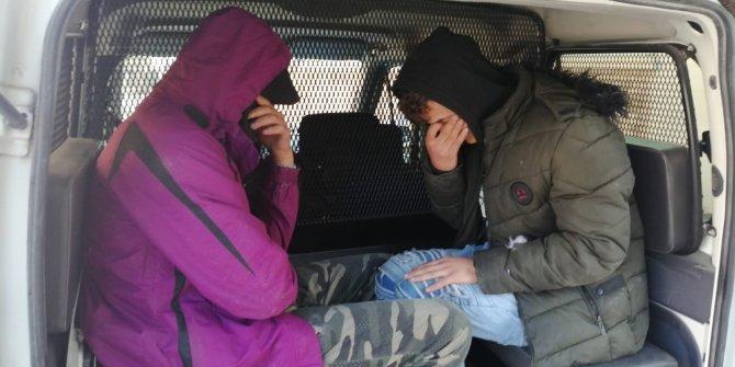 Kaçak göçmenler, tarihi medresede uyurken yakalandı