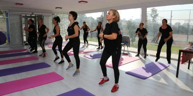 Odunpazarı Belediyesi'nin yoga merkezine büyük ilgi