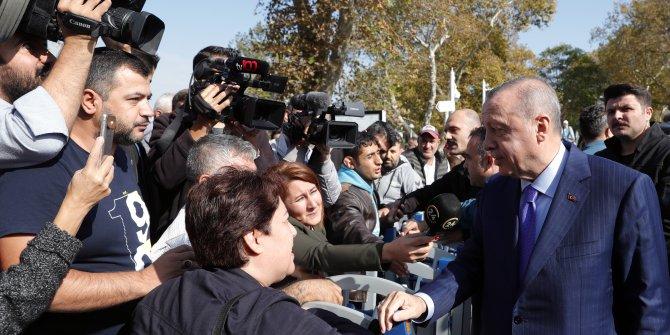 Cumhurbaşkanı Erdoğan vatandaşlarla sohbet etti, EYT açıklaması yaptı