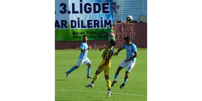 Kemerspor 2003 - Fatsa Belediye Spor: 4-0