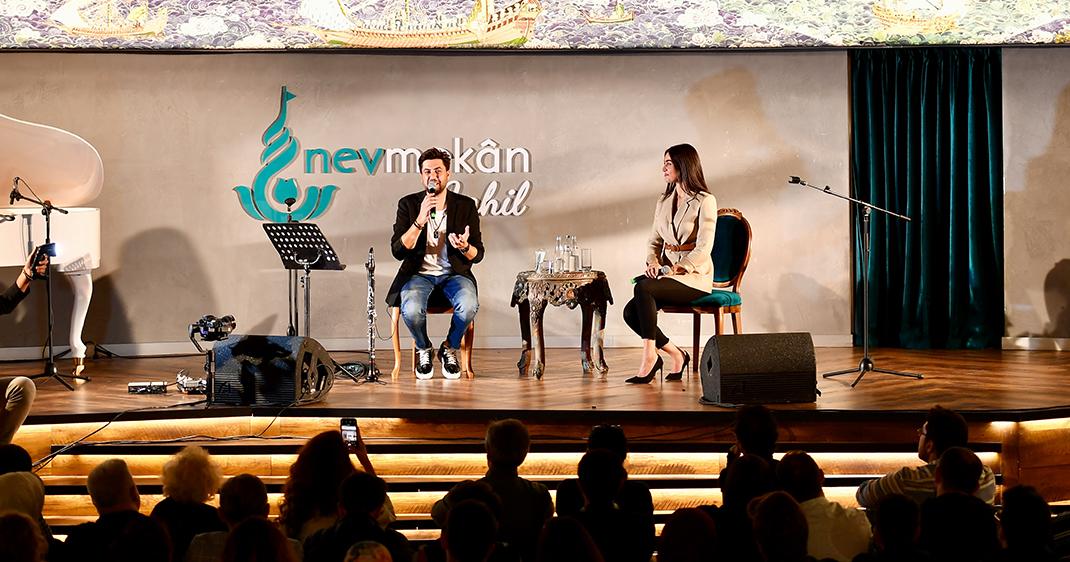 Üsküdar'da Nev Nefes programı ile sohbet ve müzik buluşmaya devam ediyor