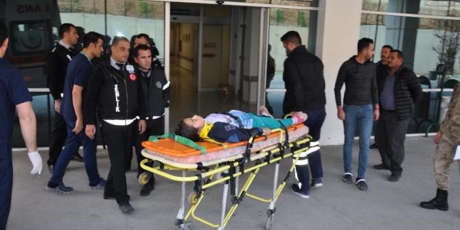 Nurhak'ta trafik kazası: 9 yaralı