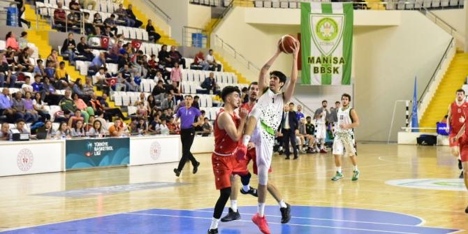Manisa BBSK Bandırma Kırmızı'yı 70-65 yendi