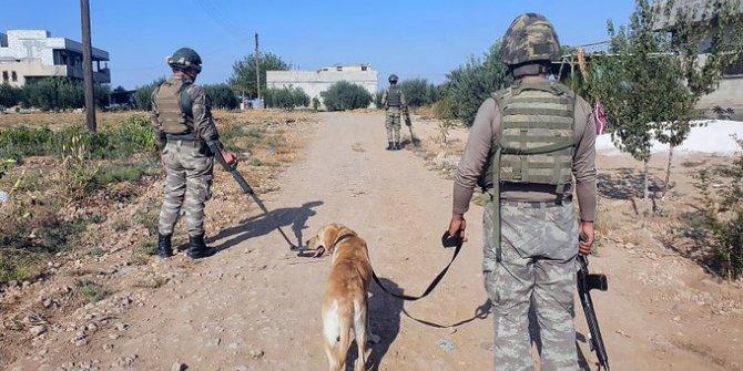 MSB: Harekat bölgesinde taciz ve saldırılara karşılık verildi