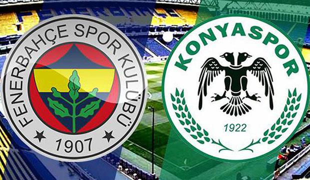Fenerbahçe - Konyaspor maçı gol yağmuruyla bitti