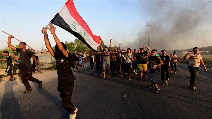Irak'taki hükümet karşıtı gösterilerde ölü sayısı 63'e yükseldi